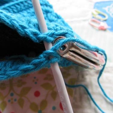 small crochet purse tute 12
