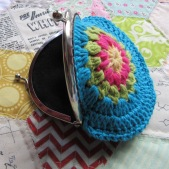 small crochet purse tute 15
