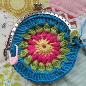small crochet purse tute 2