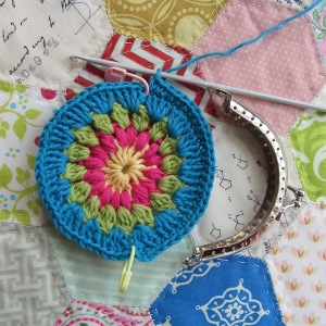 small crochet purse tute 3