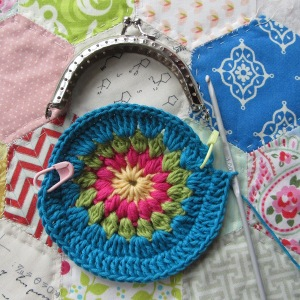 small crochet purse tute 4