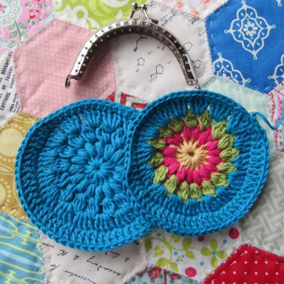 small crochet purse tute 5