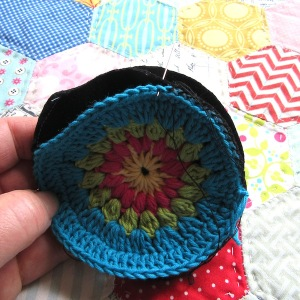 small crochet purse tute 8