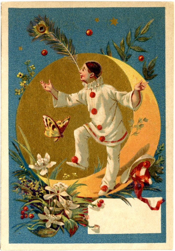 Vintage-Pierrot-Clown-Image-GraphicsFairy